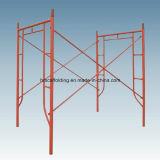 Andamio de acero del marco del sistema H de la construcción del metal de la alta calidad