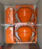 Topmac marque Mini Bétonnières exportés au Cameroun / Sénégal / le Nigéria (TDCM125-6D)