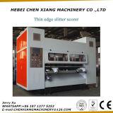 CX-2500는 잎 Slitter Scorer 기계를 엷게 한다