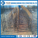 Diseño y fabricación del edificio del almacén del taller de la estructura de acero