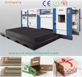Hot Salt Creasing and Corrugated Cardboard Die Cutting Machine