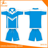 Healong 운동복은 축구 저어지 셔츠 착용의 인쇄를 승화했다