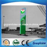 Le gaz allumé en signe de la publicité rétroéclairé (GS13)