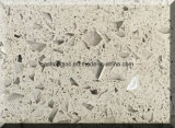 Surface solide de pierre artificielle de quartz pour le matériau de construction de dessus de vanité de dessus de Tableau de partie supérieure du comptoir de cuisine