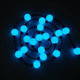 indicatore luminoso della stringa di natale di RGB LED della sfera 3D