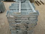 Fábrica de la pisada de escalera del acero de carbón