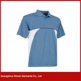 Maglietta di polo degli uomini atletici del fornitore della Cina degli uomini superiori di base della camicia (P78)
