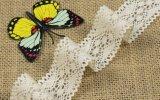 Lacet neuf de Double-Côté de coton de qualité pour le vêtement et le vêtement de décoration