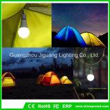 Lámpara de emergencia exterior de 9W Lámpara de Camping con linterna LED Portátil de senderismo de la luz de la tienda de iluminación de noche