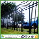 熱い浸されたGalvanziedの鋼鉄管状の防御フェンス