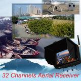"""5 """"ヘリコプターのための5.8GHz多様性受信機が付いているFpvのモニタ"""