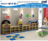 Шкаф кантона Mickey деревянный для школы ягнится деревянная игра M11-08402 роли