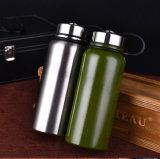 Doppeltes ummauert Edelstahl-Wasser-Flaschen-Flüssigkeit-Flasche