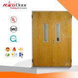 Portello di legno di sicurezza della porta antincendio/portello di legno con BS476 britannico certificato