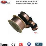 二酸化炭素のガスの盾の溶接ワイヤEr70s-6ミグ溶接ワイヤーか溶接材料