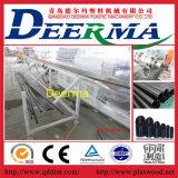 Linha de extrusão do tubo de HDPE de plástico