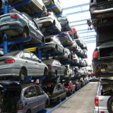Certificación CE en voladizo Heavy Duty Rack para coche
