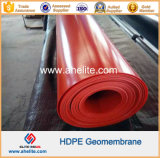 Red ColorのスムーズなSurface HDPE Geomembranes