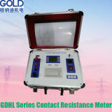 Tester automatico potabile 100A di resistenza di contatto dei CB di Gdhl-II