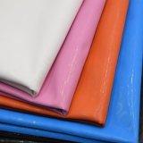 Elastisches einfacher Entwurf PU-Beutel-Leder, dekoratives Leder