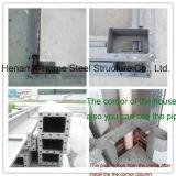 Recipiente de aço na construção do campo de trabalho Dormitório