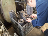 Attrezzo di vite senza fine della rotella di attrezzo dell'asta cilindrica di attrezzo della parte del trattore del Belarus