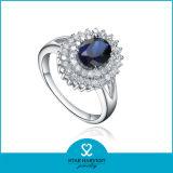 Los nuevos vienen Amatista anillo plata para una muestra gratis (R-0244)