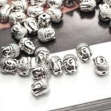 Buddha bördelt die tibetanischen Distanzstück-Raupen, die für Armband-Halsketten befestigt werden