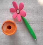 Penna dello scrittorio di figura del dell'impianto del silicone (LT-C250)