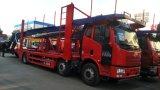 FAWのブランド3の車軸5units自動車運搬船のトラック車の運送業者の自動車のトラック