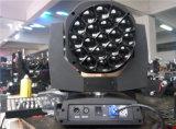 19PCS RGBW 이동하는 맨 위 세척 LED B 눈 K10 단계 빛