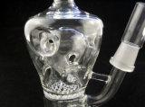 تصميم جديدة زجاجيّة يدخّن [وتر بيب] مع يدور [برك]