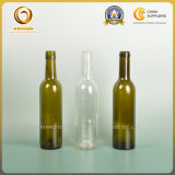 бутылка вина Бордо 375ml стеклянная с крышкой винта (004)
