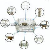Contenitore/gabbia piegati della maglia del filo di acciaio