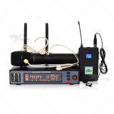 ATX200は多様性UHF専門のデジタルの無線マイクロフォンシステムを調整する