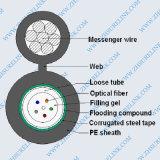 GYTA53 Ruban d'acier blindé de câble à fibre optique