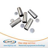 Caso de la célula de 18650 cilindros con el casquillo y el anillo o antiexplosivos del aislante