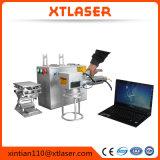 Máquina de la marca del laser de la fibra del CAS /Max /Raycus/ Ipg 20W 30W 50W para el metal, relojes, cámara, piezas de automóvil, hebillas