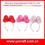 Regalo dell'ornamento della clip della testa del gufo del biglietto di S. Valentino della decorazione del biglietto di S. Valentino (ZY13L939-1-2)