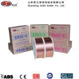 Медным покрытием сварочная проволока CO2 Aws ER70s-6 1,2 мм