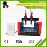 Relevo que cinzela a máquina de mármore do router do CNC do mármore da rotulação da lápide (QL-1218)