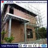 Casa da estrutura de aço leve prefabricadas