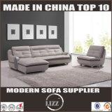 Modernes Edelstahl-Bein-Ecken-Sofa
