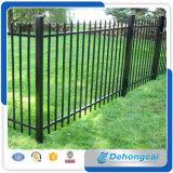 O pó galvanizado clássico usado revestiu a cerca/ferro da associação do ferro feito que cerc/projetos soldados das cercas