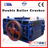 大きい容量と押しつぶす二重ローラーのための石の石炭の砕石機