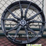 A auto liga forjada de Maserati das bordas das rodas de carro roda a réplica