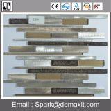 Dekorative Küche-Kristallglas-Mosaik-Fliese für Wand