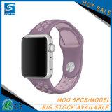 Appleの腕時計のための熱い販売のスポーツのシリコーンの時計バンドバンド