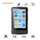 IP65 Android Touch Screen Fingerprint Scanner PDA met UHF/Hf RFID, Barcode Scanner