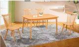 Mesa de jantar de madeira sólida de carvalho e conjunto de cadeiras Mesa de jantar moderna